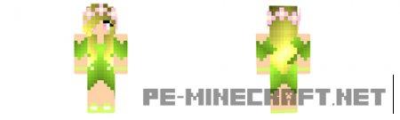 Скин принцесса леса для Minecraft