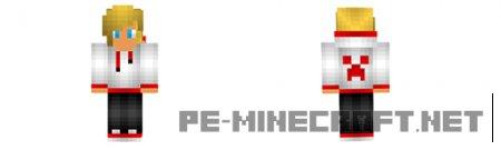 Скин Блондина для Minecraft