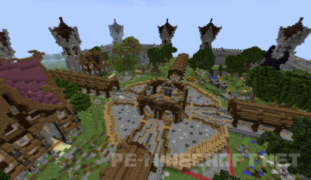 Сервер Bullaran для Minecraft 1.9