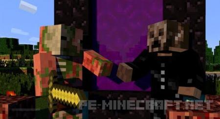 Карта Побег от Вампира для Minecraft PE 0.15.0