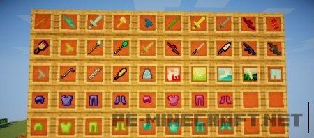Мод My Heroes Ability для Minecraft 1.9