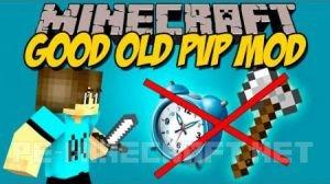 Мод Good Old PvP для Minecraft 1.9