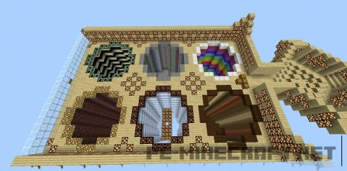 Карта Fly Dream для Minecraft PE