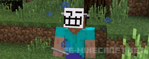 Мод Маски для Minecraft PE 0.14.1