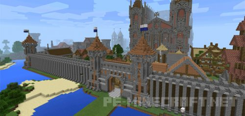 Карта Kingdom of Fairheaven для Minecraft PE