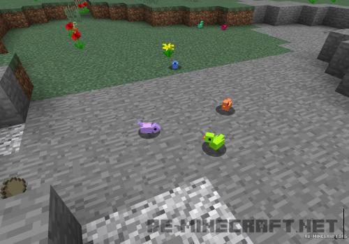 Мод Птицы для Minecraft Pe 0.14.1