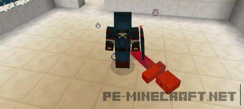 Мод Captain America для Minecraft PE 0.14.1
