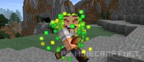 Мод Super Crazy Trails для Minecraft PE 0.14.2