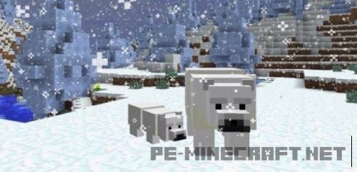 Новый полярный медведь и скелет в Minecraft 1.10