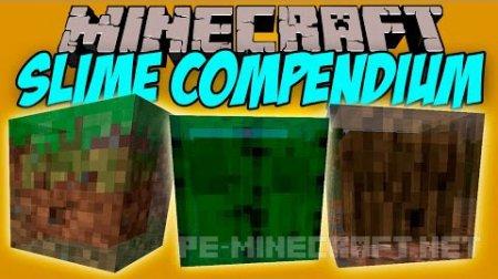 Мод на новых слизней для Minecraft 1.9