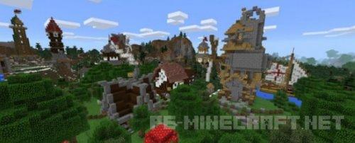 Карта Rexzy's Village 0.15.1