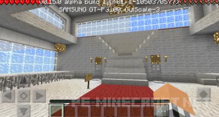 Карта Падший ангел для Minecraft PE 0.15.6