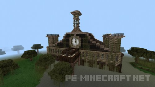 Карта The Mystic Mansion для MCPE 0.15.4