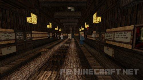 Карта The Mystic Mansion для MCPE 0.15.4