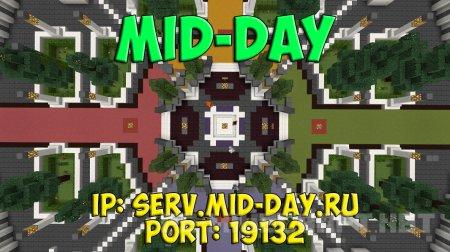 Survival сервер MiD-Day для Minecraft PE