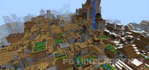 Мод на Города для Minecraft PE 0.15.6