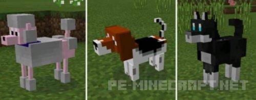 Мод Doggy для MCPE 0.15.6