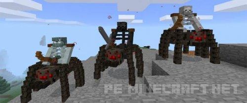 Мод на Мутантов для Minecraft PE 0.16.0