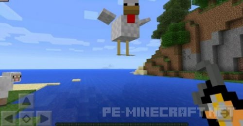 Мод Idea Craft для Minecraft PE 0.15.6