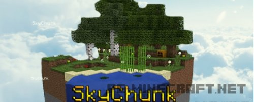Карта SkyChunk для MCPE
