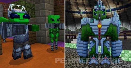 Мод на пришельцев для Minecraft PE 0.16.0