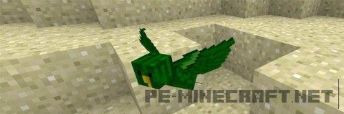 Аддон The Birds для Minecraft PE 0.16.0