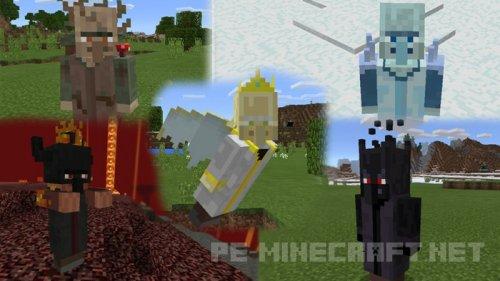 Мод на 5 боссов для Minecraft 0.17.0.2