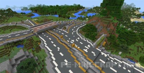 Карта Northern Industria для Minecraft PE