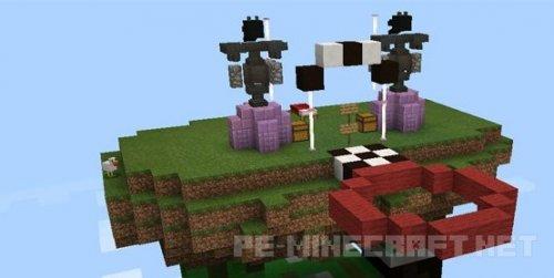 Карта Elytra MStyler 777 для Minecraft PE