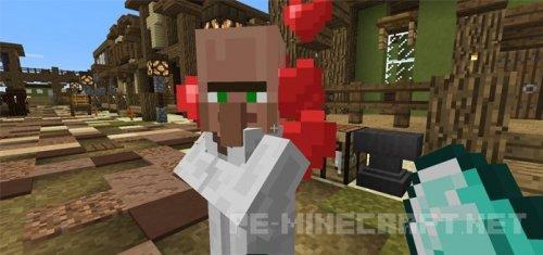 Мод Villager Companion для Minecraft PE 0.17.0/1.0