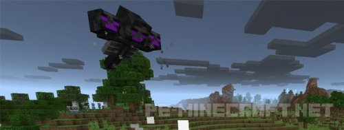 Мод Ender Wither для Minecraft 0.17.0/1.0.0