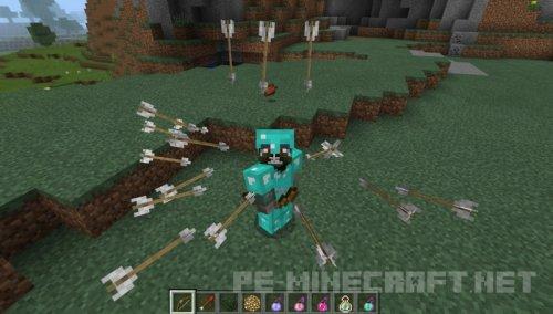 Мод заморозка времени для Minecraft PE 0.17.0/1.0