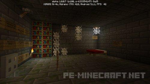 Карта Save the Christmas для Minecraft PE
