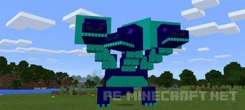 Мод гидра для Minecraft PE 0.17.0/1.0