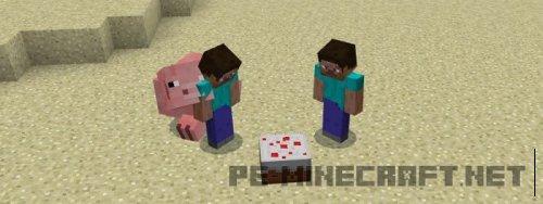 Мод Explosive Pig для MCPE 0.17.0/1.0