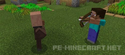 Мод Hurtful Arrows для MCPE 1.0.0