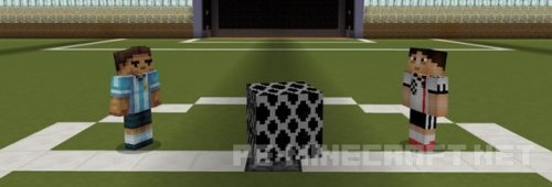 Карта Игра в футбол для MCPE