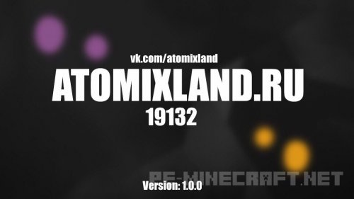 Открытие сервера MCPE - AtomixLand