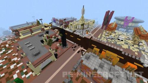 Карта Cars Island для MCPE 1.1