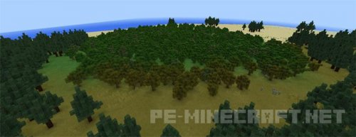 Карта Tylers Custom Terrain MCPE 1.1