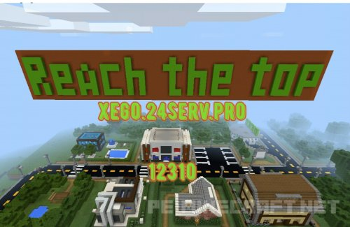 Сервер MCPE: Reach the top. V: 1.1.3.