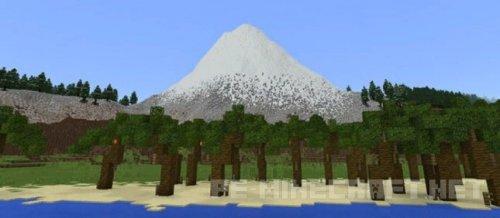 Карта Островные биомы для MCPE 1.2
