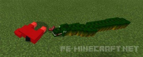 Мод на Змею для MCPE 1.2
