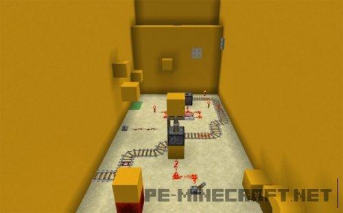Карта с элементами паркура The Concrete PE для MCPE 1.2