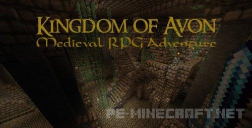 Карта Kingdom of Avon для Майнкрафт 1.2
