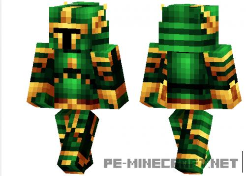 Скин Green Knight для Minecraft PE 1.2